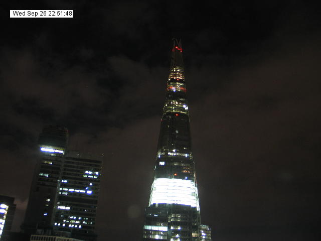 Webcam London - Shard London Bridge Live webcamera